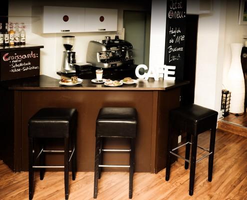 Fairtrade gehandelter Kaffee im Café Wunderbar