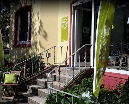 Die neue Aussenansicht vom Café Wunderbar in Fulda